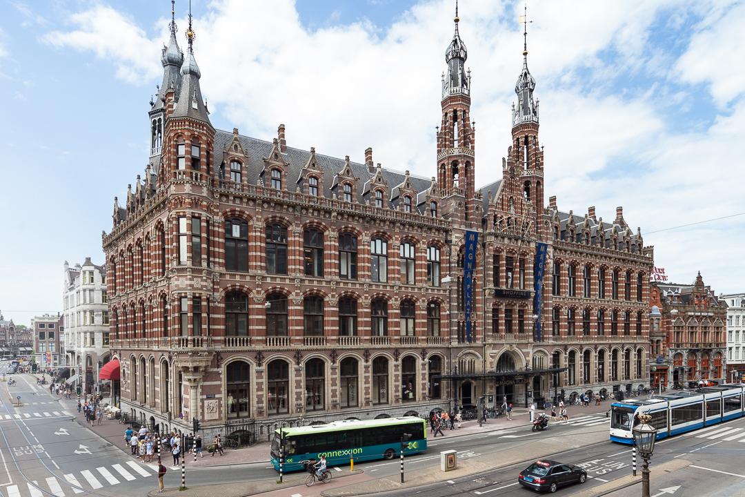 vastgoedfotografie hoogtefotografie Amsterdam - Magna Plaza