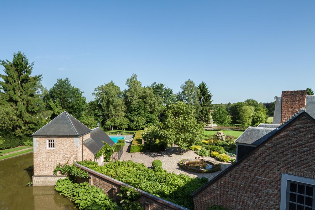 hoogtefotografie van woonhuis België