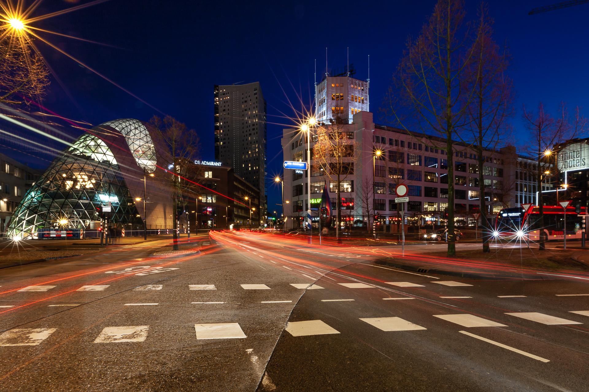 Avondfotografie Eindhoven Cityscape