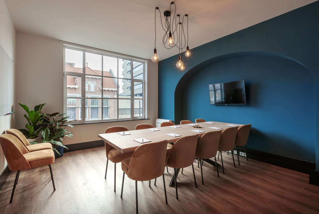 Interieur vergaderruimte Eindhoven