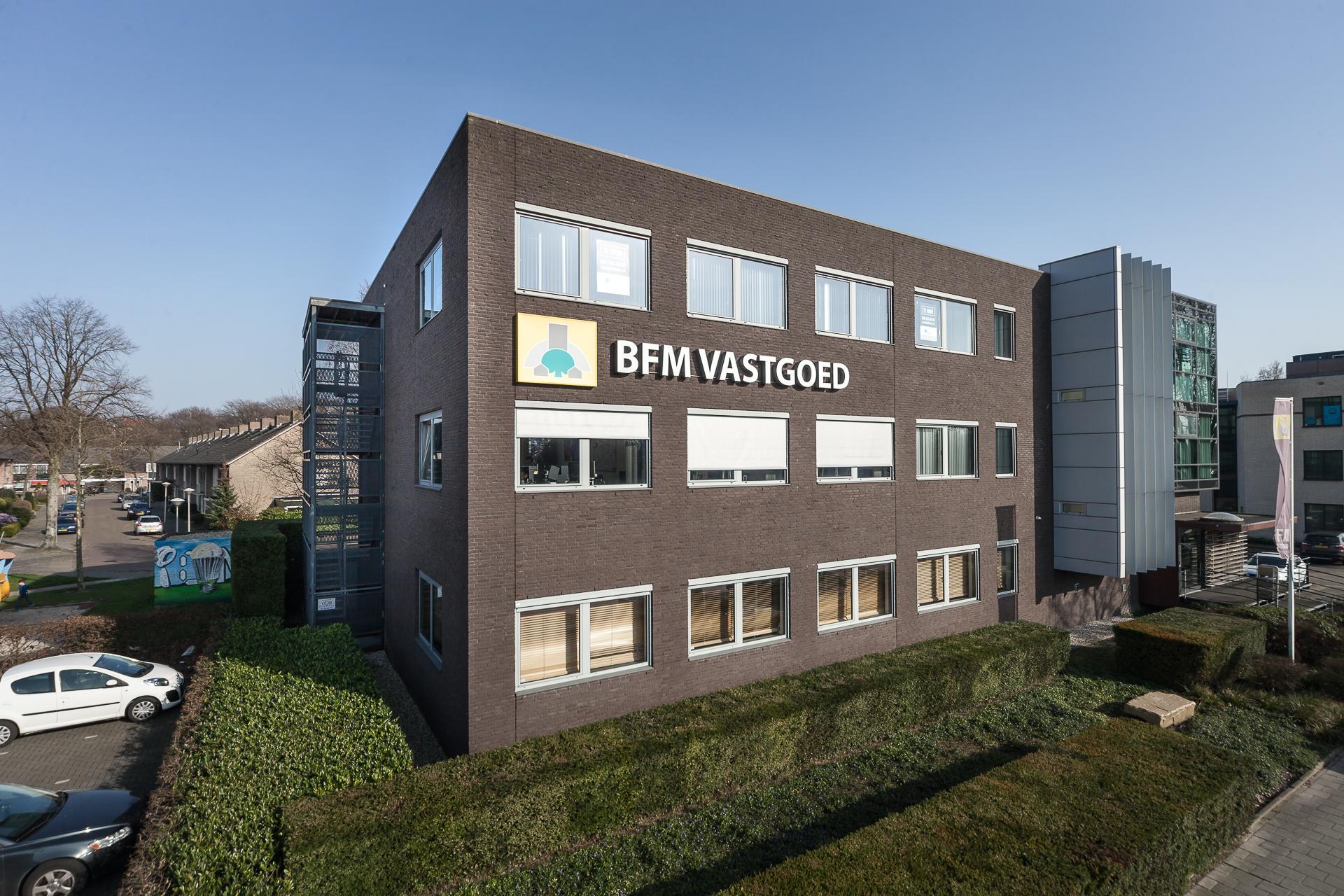 Hoogtefotografie kantoorgebouw Eindhoven