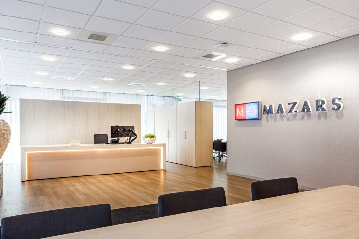 Interieurfotografie Mazars Utrecht