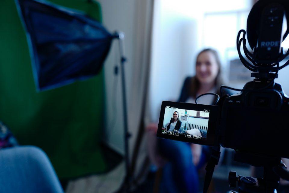 Bedrijfsvideo - achter de schermen